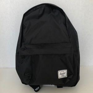 Herschel black classic mid light backpack NWT!